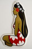 STICKER VAHINE HINANO COULEUR